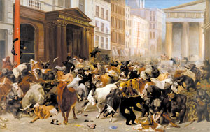 William H. Beard - Bulls and Bears in the Market - 1879