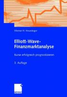 Elliott-Wave-Finanzmarktanalyse