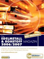 Edelmetall- & Rohstoff-Magazin 2006/07