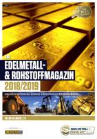 Edelmetall- & Rohstoff-Magazin 2018/19