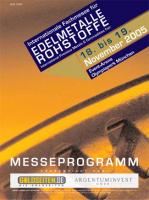 Edelmetall- & Rohstoff-Magazin 2005/06