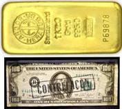 Gold gegen 200 Billionen $ Falschgeld