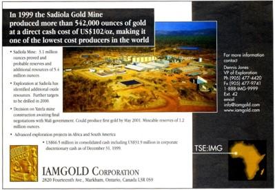 Das Beispiel der Sadiola-Goldmine in Mali, Westafrika, die derzeit als die Goldmine mit den niedrigsten Produktionskosten gilt.