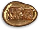 Creseide von Lydien (hohle Quadrate), um 650 vC)
